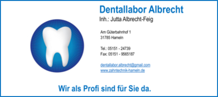 AWesA Allstar-Game 2018 Banner-Wand dentallabor albrecht hameln