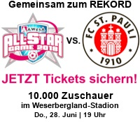 AWesA Allstar-Game 2018 FC Sankt Pauli Tickets Shop