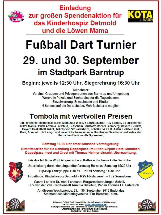 "Stadtfest Barntrup: Spendenaktion für Kinderhospiz & ""Löwenmama"""