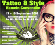 Tatoo Style Convention Hameln 2016 AWesA