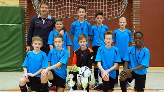 Theodor-Heuss-Realschule Hameln Indoor Cup Bad Pyrmont 2015 AWesA