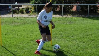 Yaren Gökdemir Tag des Mädchenfussballs Hastenbeck