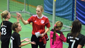 Natalie Datta Trainerin Hastenbeck D-Juniorinnen