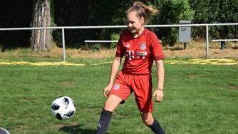 Ayleen Ebeling Tag des Mädchenfussballs in Hastenbeck