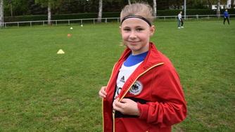 Mit acht Jahren die jüngste Teilnehmerin Paula Gerber