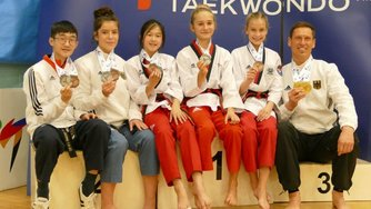Redfire Kampfsport Team Taekwondo Great Britain Open Poomsae Championships AWesA
