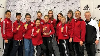 Redfire Kampfsport Team Taekwondo German Open Poomsae Championships