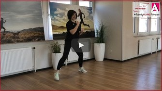 familyHOMEfitness Zumba Bonus mit Sonja Play Button