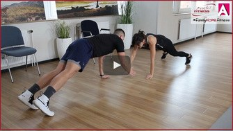 familyHOMEfitness Shirley Wehrhahn und Christopher Play Button