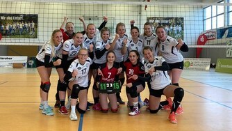 TC Hameln Volleyball Frauen Verbandsliga Siegerfoto