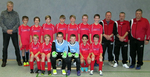 D-Junioren TSV Gross Berkel Fussball