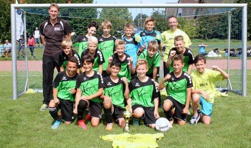 Kreis-Pokalsieger der D-Junioren 2015 JSG Halvestorf TC Hameln AWesA