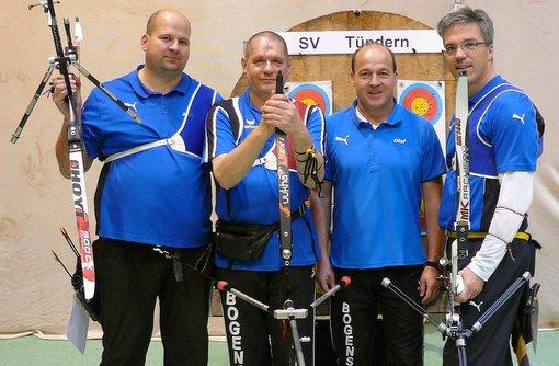 SV Tündern Jörg Rolla, Uwe Kunert, Martin Wisch, Olaf Lippek