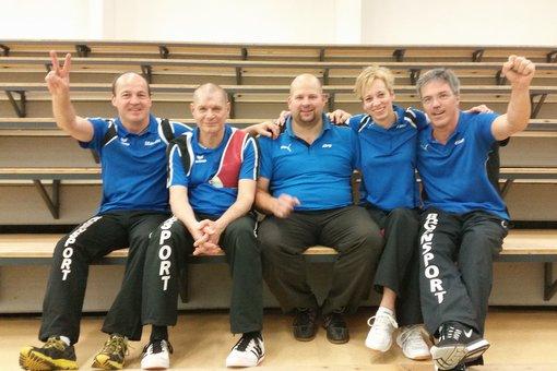 Martin Wisch, Uwe Kunert, Jörg Rolla, Tina Griese, Olaf Lippek SV Tündern