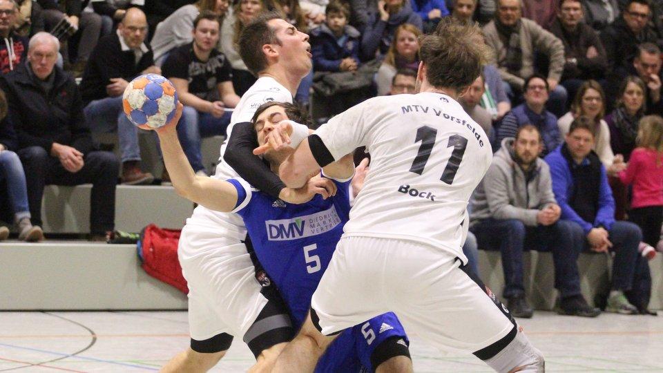 Jannik Henke VfL Hameln gegen Vorsfelde