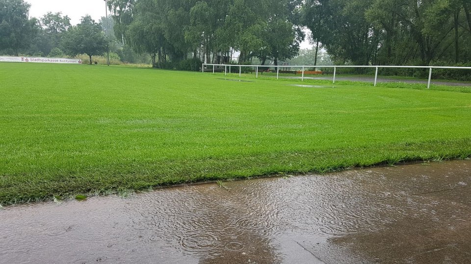 AWesA Groundhopping Unwetter Juli 2017 SC Inter Holzhausen 1