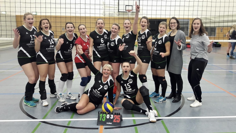 Weserbergland Volleys Volleyball Landesliga Jubel AWesA